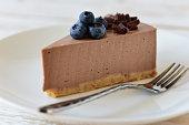 Cheesecake with berries. Cheesecake sweet dessert.