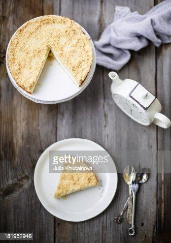Cheesecake with streyzel