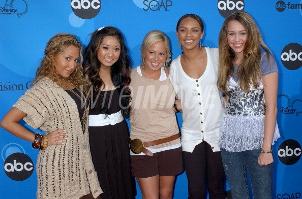 Cheetah Girls Brenda Song And Miley Cyrus Wireimage 107584745