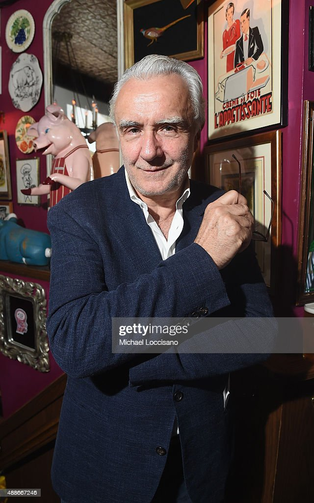 Chef Alain Ducasse attends The Mind of a Chef season 4 premiere party powered by Breville at The Spotted Pig on September 16 2015 in New York City