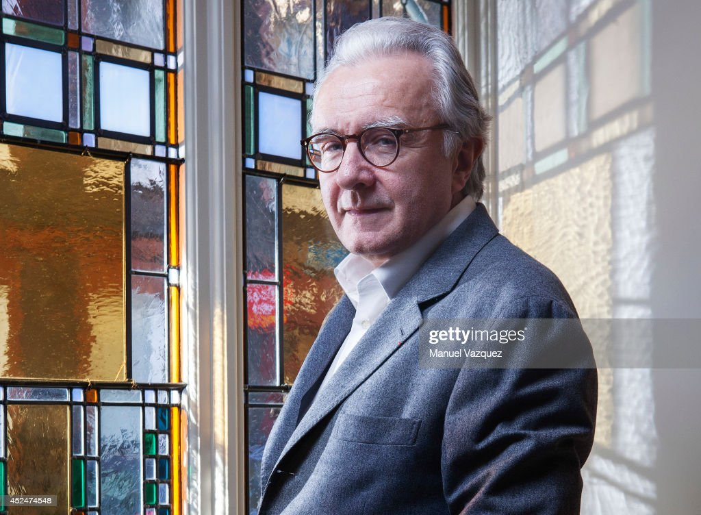 Chef Alain Ducasse is photographed for the Sunday Times magazine on March 5, 2014 in London, England.