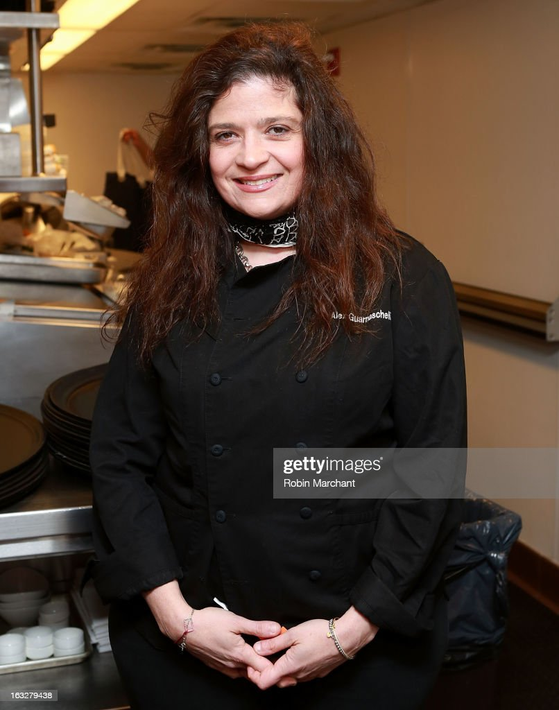 Chef Alex Guarnaschelli attends the 2013 Dinner For A Better New York at Riverpark Restaurant on March 6, 2013 in New York City.