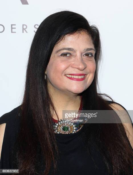 Chef Alex Guarnaschelli attends the Tracy Anderson Flagship Studio opening at Tracy Anderson Flagship Studio on March 15 2017 in New York City