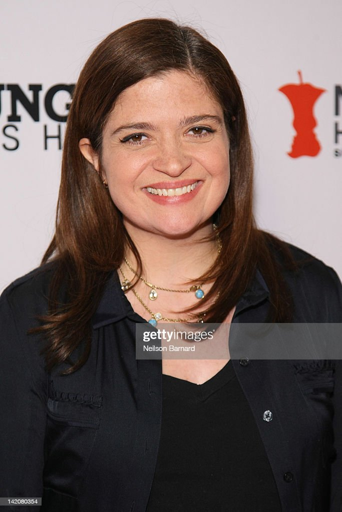 Chef Alexandra Guarnaschelli attends the 'Hunger Hits Home' screening at the Hearst Screening Room on March 29, 2012 in New York City.