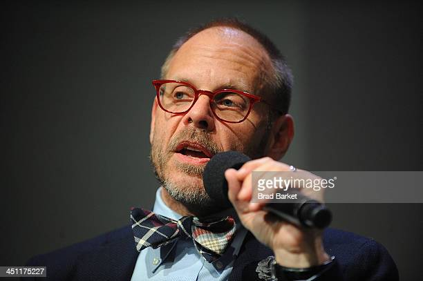 Chef Alton Brown attends 'Meet The Author' at Apple Store Soho on November 21 2013 in New York City