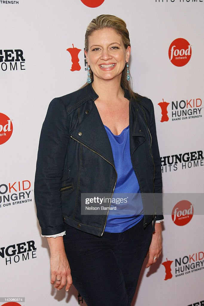 Chef Amanda Freitag attends the 'Hunger Hits Home' screening at the Hearst Screening Room on March 29, 2012 in New York City.