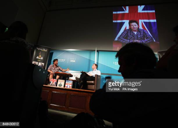 Chef and campaigner Jamie Oliver talks to Ben McCormack Editor of Square Meal at an Audience with Jamie Oliver in central London