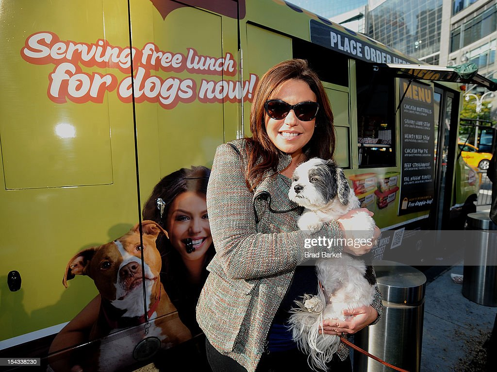 chef and television host rachael ray attends rachael ray food truck for dogs in new york