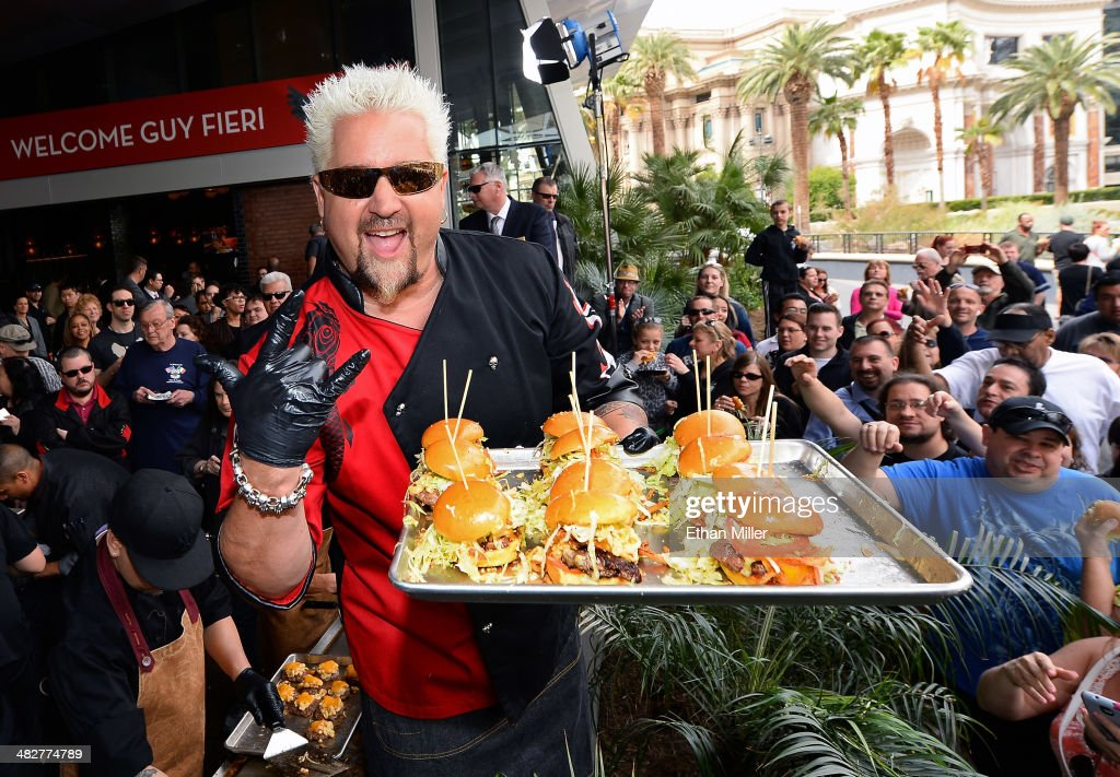 Guy Fieri\'s Vegas Kitchen & Bar Welcome Event Photos and Images ...