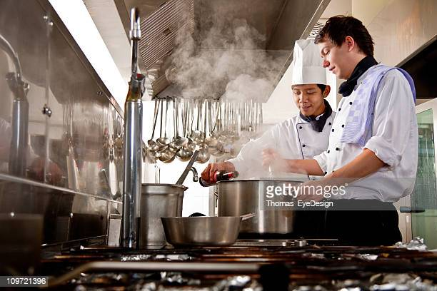 Chef and Trainee