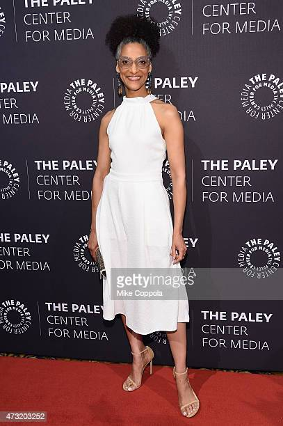 Chef and TV personality Carla Hall attends A Tribute To AfricanAmerican Achievements In Television hosted by The Paley Center For Media at Cipriani...