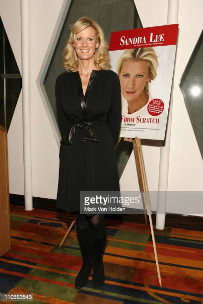 Chef and TV personality Sandra Lee at the launch party for her book 'Made From Scratch A Memoir' by Sandra Lee on November 5 2007 at Le Cirque in New...