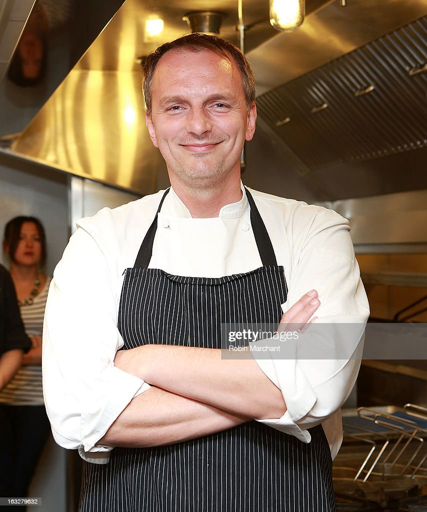 Chef Andrew Carmellini attends the 2013 Dinner For A Better New York at Riverpark Restaurant on March 6, 2013 in New York City.