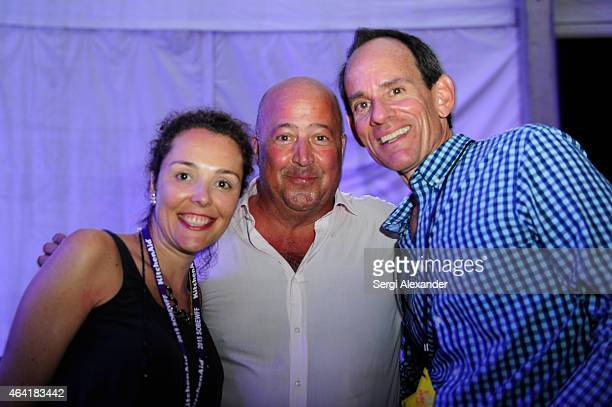 Chef Andrew Zimmern attends Best Of The Munchies People's Choice Food Awards hosted by Andrew Zimmern during the 2015 Food Network Cooking Channel...