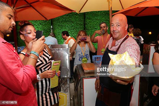 Chef Andrew Zimmern attends Best of The Munchies People's Choice Food Awards Presented by PepsiCo Hosted by Andrew Zimmern during the Food Network...
