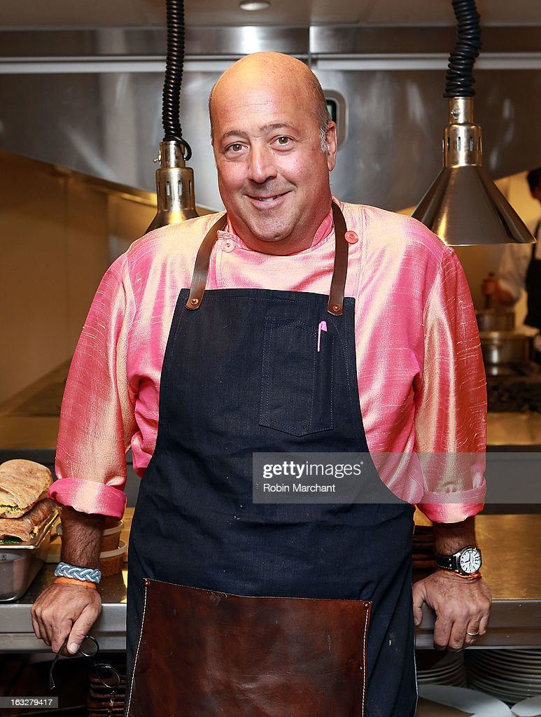 Chef Andrew Zimmern attends the 2013 Dinner For A Better New York at Riverpark Restaurant on March 6, 2013 in New York City.