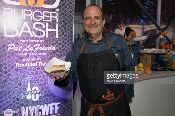 Chef Andy D'Amico of Five Napkin Burger attends the Food Network Cooking Channel New York City Wine Food Festival Presented By CocaCola Blue Moon...