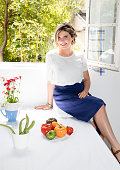 Chef Angele FerreuxMaeght is photographed for Madame Figaro on June 17 2016 in Paris France PUBLISHED IMAGE CREDIT MUST READ Theodora...