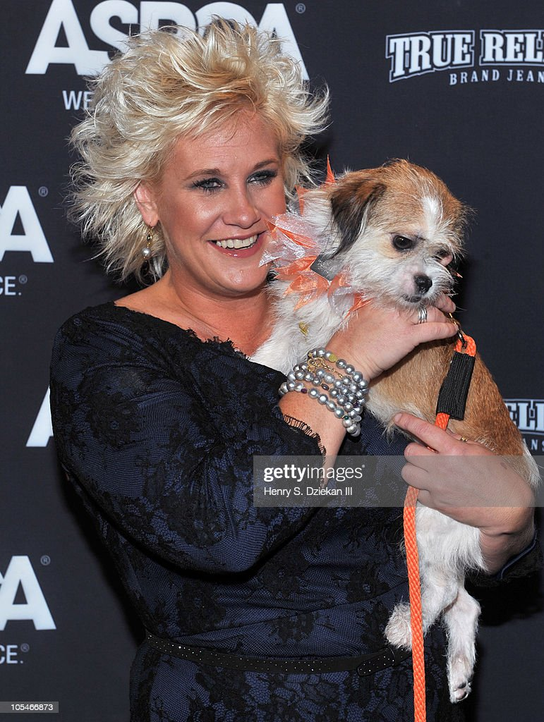 Photo of Anne Burrell & her Dog