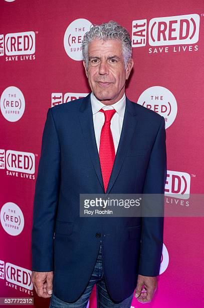 Chef Anthony Bourdain attends The Supper at 225 Liberty Street on June 2 2016 in New York City
