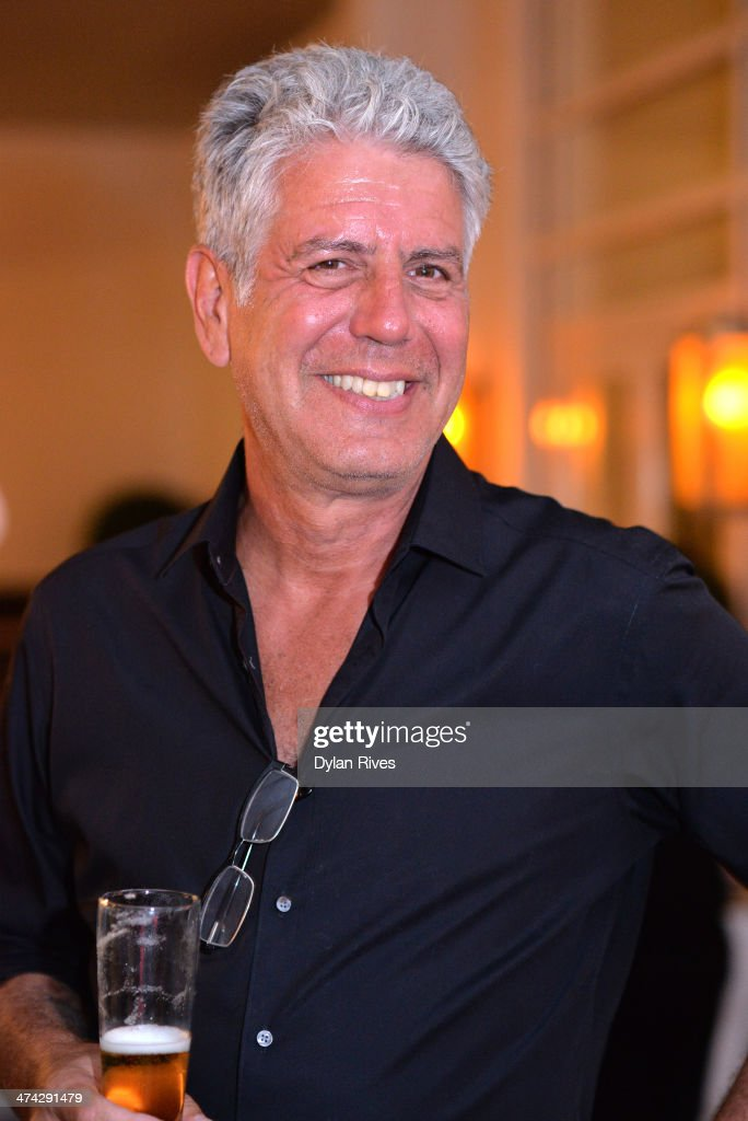 anthony bourdain getty images