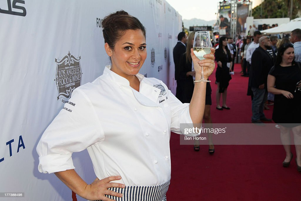Chef Antonia Lofaso attend the Festa Italiana with Giada de Laurentiis opening night celebration of the third annual Los Angeles Food & Wine Festival on August 22, 2013 in Los Angeles, California.