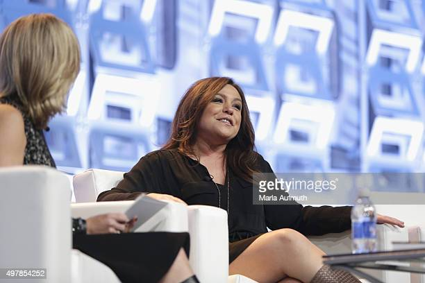 Chef author TV Personality Rachael Ray speaks on stage during Pennsylvania Conference For Women at Pennsylvania Convention Center on November 19 2015...