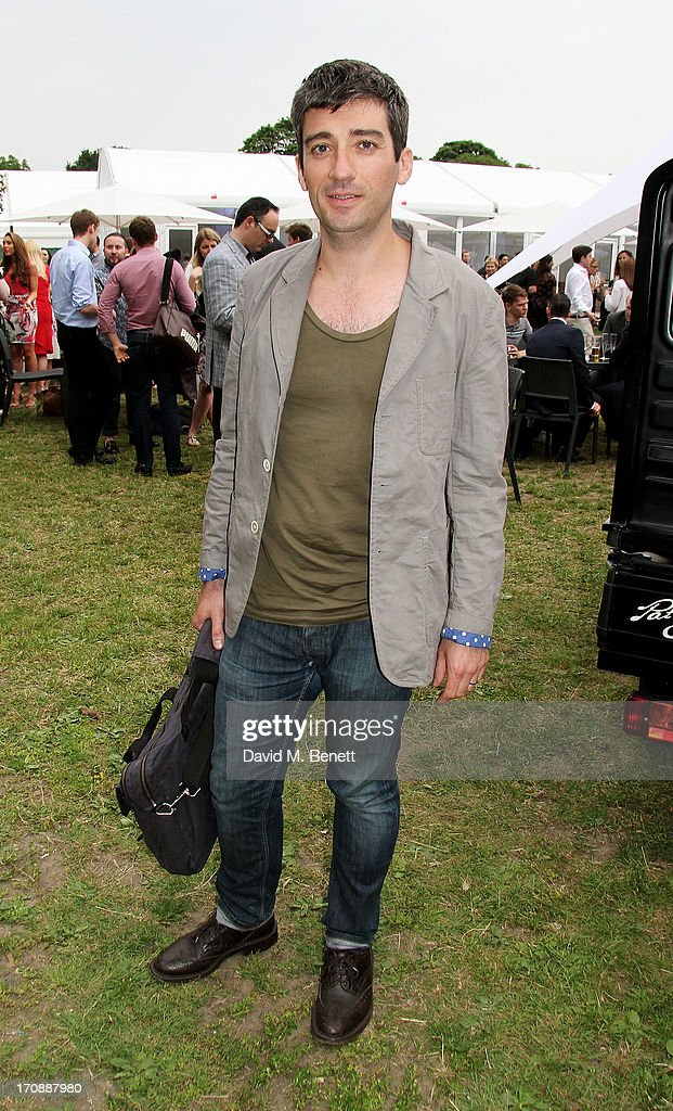 Chef Ben Tish attends the VIP Preview for 'Taste of London' at Regent's Park on June 19, 2013 in London, England.