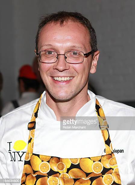 Chef Bill Telepan attends LemonNYC A Culinary Event To Fight Childhood Cancer Benefiting Alex's Lemonade Stand Foundation at Industria Superstudio on...