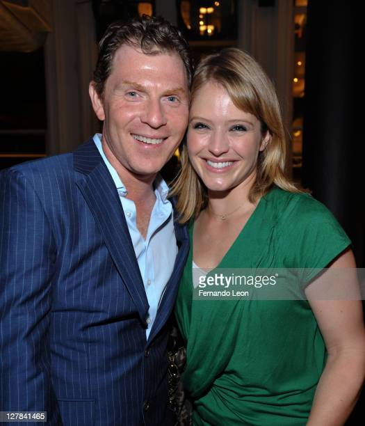 Chef Bobby Flay and Today Show correspondent Sara Haines attend Diet Pepsi Spices Up NYC's Wine and Food Festival Tacos Tequila With Bobby on October...