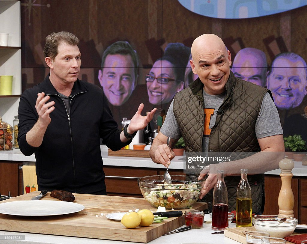 THE CHEW - Chef Bobby Flay visits 'The Chew' today, January 8, 2013. 'The Chew' airs MONDAY - FRIDAY (1-2pm, ET) on the ABC Television Network. SYMON