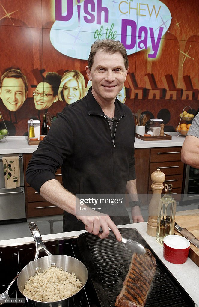 THE CHEW - Chef Bobby Flay visits 'The Chew' today, January 8, 2013. 'The Chew' airs MONDAY - FRIDAY (1-2pm, ET) on the ABC Television Network. FLAY