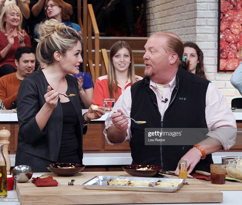 THE CHEW - Chef Bobby Flay visits 'The Chew' today, January 8, 2013. 'The Chew' airs MONDAY - FRIDAY (1-2pm, ET) on the ABC Television Network. BATALI