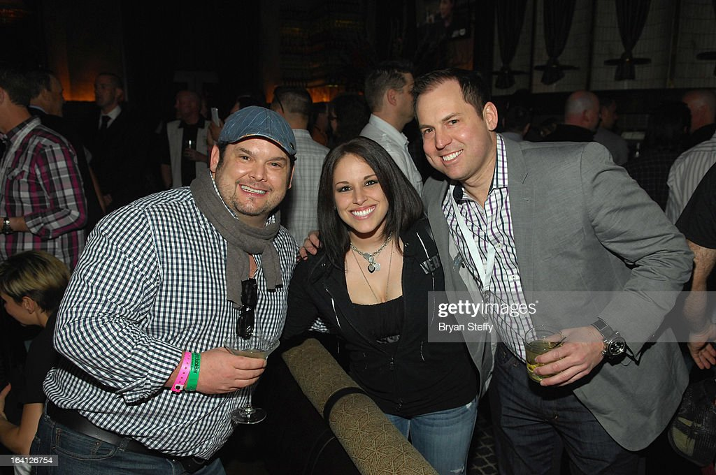 Chef <a gi-track='captionPersonalityLinkClicked' href=/galleries/search?phrase=Brian+Duffy&family=editorial&specificpeople=214200 ng-click='$event.stopPropagation()'>Brian Duffy</a> greets attendees at a 'Bar Rescue' happy hour event at the Lavo Restaurant & Nightclub at The Palazzo Las Vegas during the 28th annual Nightclub & Bar Convention and Trade Show on March 19, 2013 in Las Vegas, Nevada.