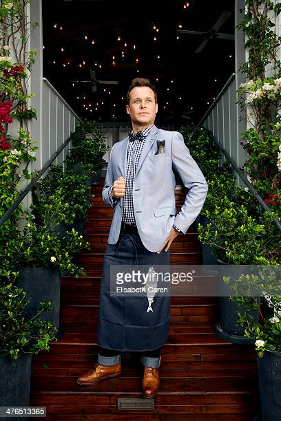 Chef Brian Malarkey is photographed for Los Angeles Confidential on September 20 2013 in Los Angeles California