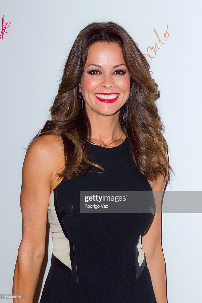 Chef <a gi-track='captionPersonalityLinkClicked' href=/galleries/search?phrase=Brooke+Burke&family=editorial&specificpeople=203216 ng-click='$event.stopPropagation()'>Brooke Burke</a> attends 'From One Second To The Next' Los Angeles Special Screening at SilverScreen Theater at the Pacific Design Center on August 8, 2013 in West Hollywood, California.