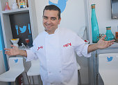 Chef Buddy Valastro attends a book signing with Twitter at Goya Foods Grand Tasting Village Featuring MasterCard Grand Tasting Tents KitchenAid®...