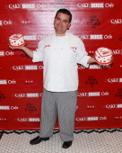 Chef Buddy Valastro attends a breakfast marking the opening of the Cake Boss Cafe at Discovery Times Square on May 1 2013 in New York City
