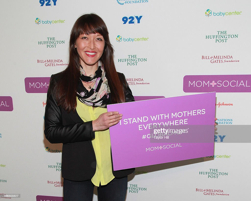 Chef Candice Kumai attends the Mom + Social Event at the 92Y Tribeca on May 8, 2013 in New York City.