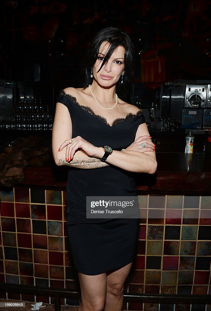 Chef Carla Pelegrino attends the opening of Rock Of Ages at The Venetian on January 5, 2013 in Las Vegas, Nevada.
