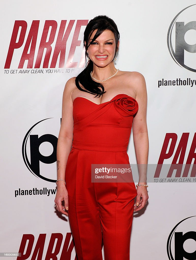 Chef Carla Pellegrino arrives at the premiere of FilmDistrict's 'Parker' at Planet Hollywood Resort & Casino on January 24, 2013 in Las Vegas, Nevada.