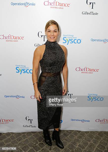 Chef Cat Cora attends ChefDance and Operation Smile on January 23 2017 in Park City Utah