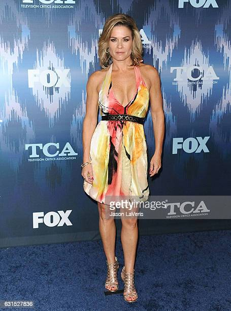 Chef Cat Cora attends the 2017 FOX AllStar Party at Langham Hotel on January 11 2017 in Pasadena California