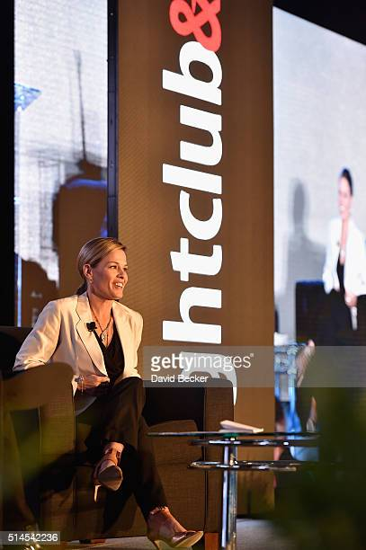 Chef Cat Cora attends the 31st annual Nightclub Bar Convention and Trade Show on March 8 2016 in Las Vegas Nevada