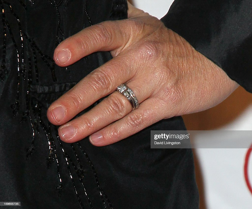 Chef Cat Cora (ring detail) attends the 4th Annual Taste Awards at Vibiana on January 17, 2013 in Los Angeles, California.