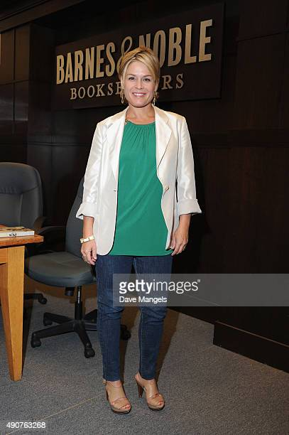 Chef Cat Cora signs and discusses her book 'Cooking As Fast As I Can' at Barnes Noble at The Grove on September 30 2015 in Los Angeles California