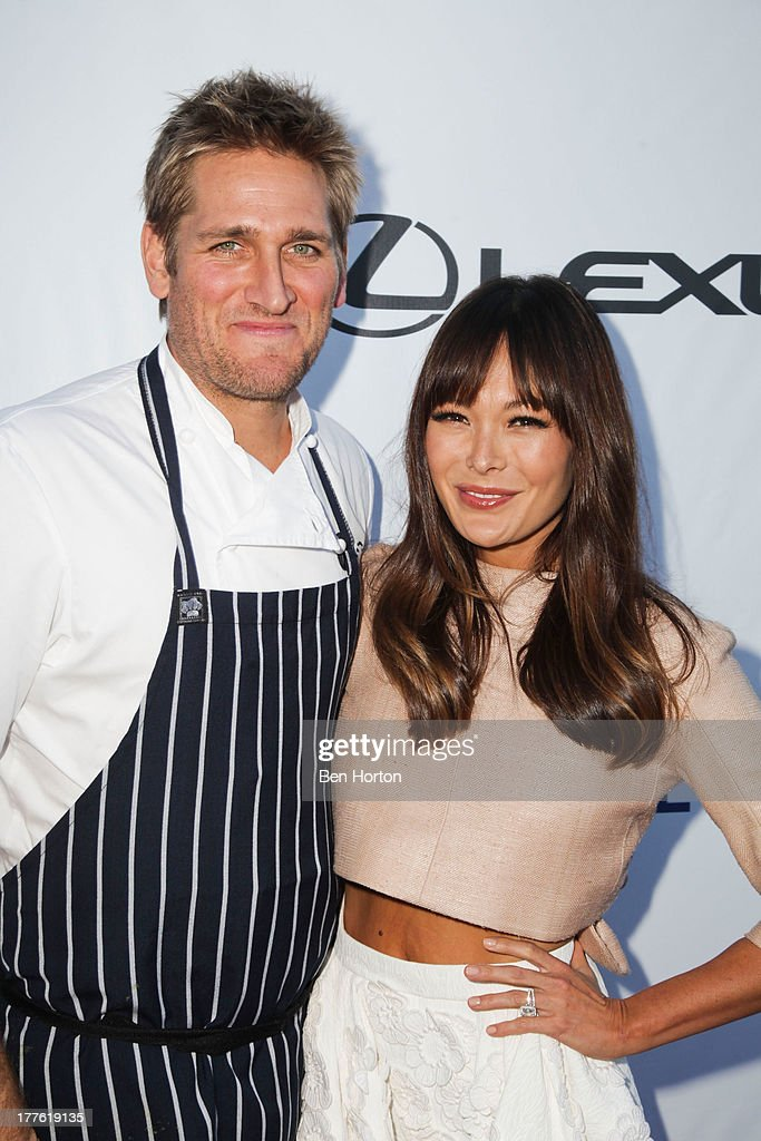 Chef <a gi-track='captionPersonalityLinkClicked' href=/galleries/search?phrase=Curtis+Stone&family=editorial&specificpeople=215291 ng-click='$event.stopPropagation()'>Curtis Stone</a> and his wife <a gi-track='captionPersonalityLinkClicked' href=/galleries/search?phrase=Lindsay+Price&family=editorial&specificpeople=3081948 ng-click='$event.stopPropagation()'>Lindsay Price</a> attend LEXUS Live on Grand hosted by <a gi-track='captionPersonalityLinkClicked' href=/galleries/search?phrase=Curtis+Stone&family=editorial&specificpeople=215291 ng-click='$event.stopPropagation()'>Curtis Stone</a> at the third annual Los Angeles Food & Wine Festival on August 24, 2013 in Los Angeles, California.