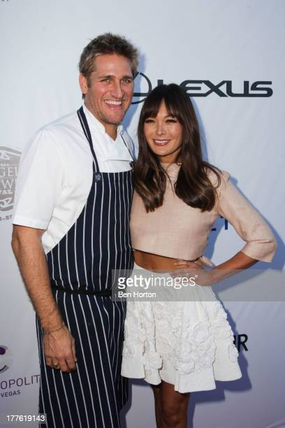 Chef Curtis Stone and his wife Lindsay Price attend LEXUS Live on Grand hosted by Curtis Stone at the third annual Los Angeles Food Wine Festival on...