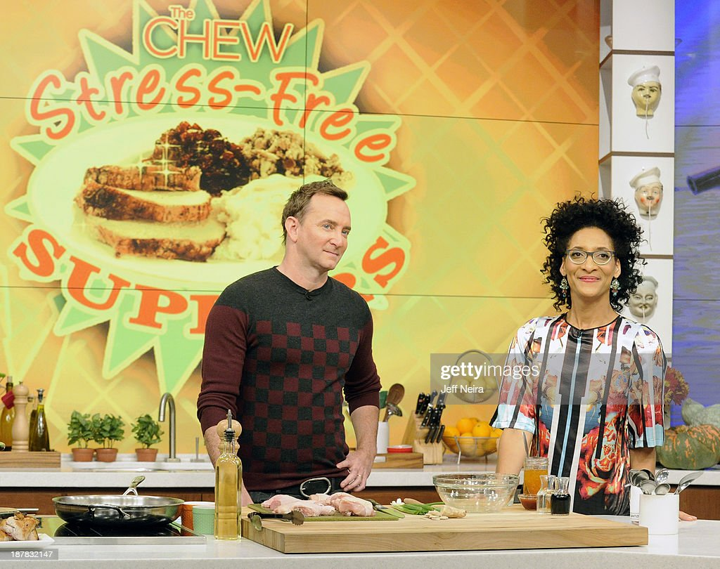 THE CHEW - Chef Curtis Stone has been named regular guest co-host of ABCs 'The Chew.' Actress Nia Long was the guest today Tuesday, November 12, 2013 on ABC's 'The Chew.' 'The Chew' airs MONDAY - FRIDAY (1-2pm, ET) on the ABC Television Network. HALL