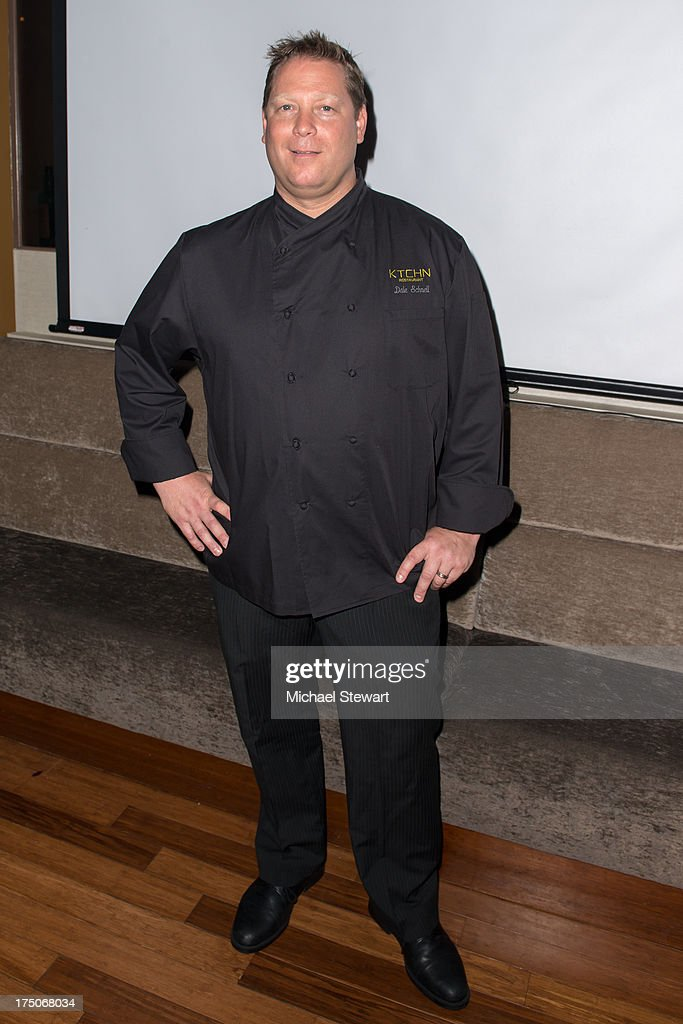 Chef Dale Schnell attends dinner and a movie at KTCHN Restaurant on July 30, 2013 in New York City.